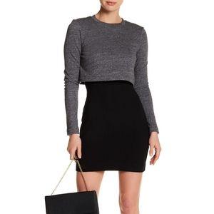 Nicole Miller Popover Sweatshirt Dress 8